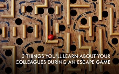 3 Things You'll Learn About Your Colleagues During an Escape Game