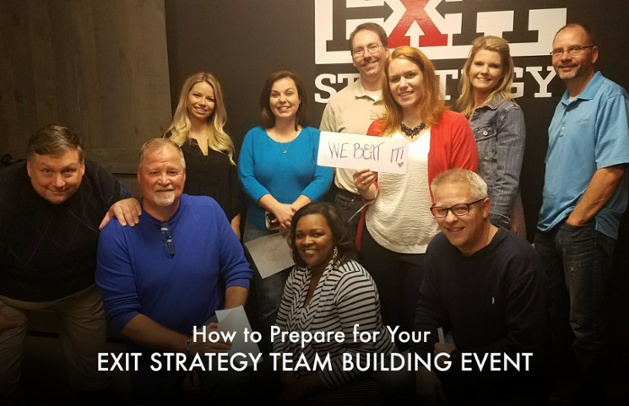 How to Prepare for Your Exit Strategy Team Building Event