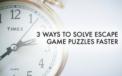 3 Ways to Solve Escape Game Puzzles Faster