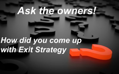 How Exit Strategy came to be ~ Owners' series